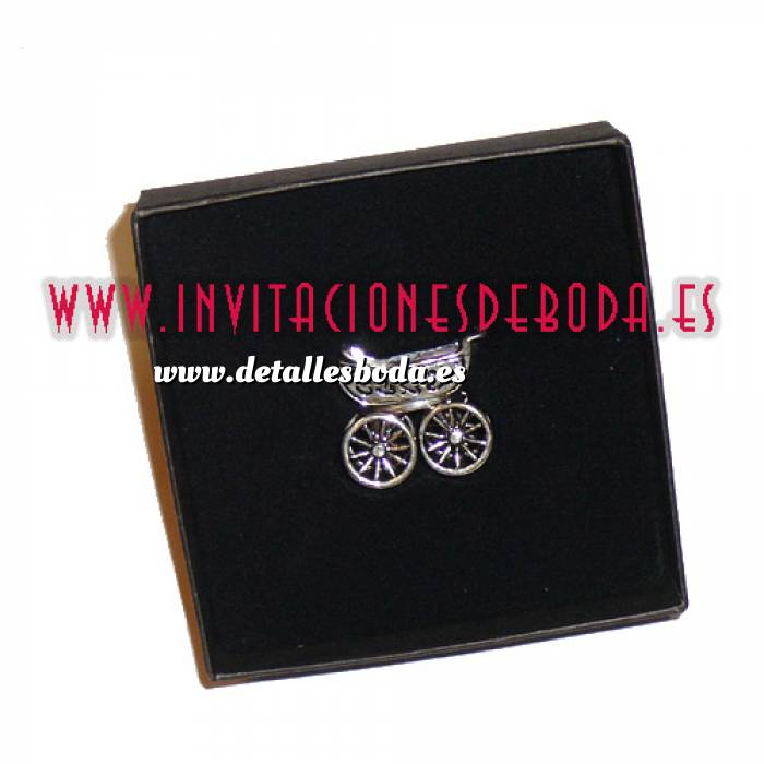 Imagen Detalles de Bautizo Carrito bebe plata (Últimas Unidades)