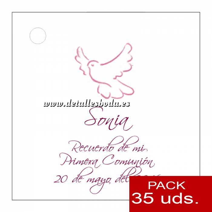 Imagen Etiquetas personalizadas Etiqueta Modelo F20 (Paquete de 35 etiquetas 4x4)