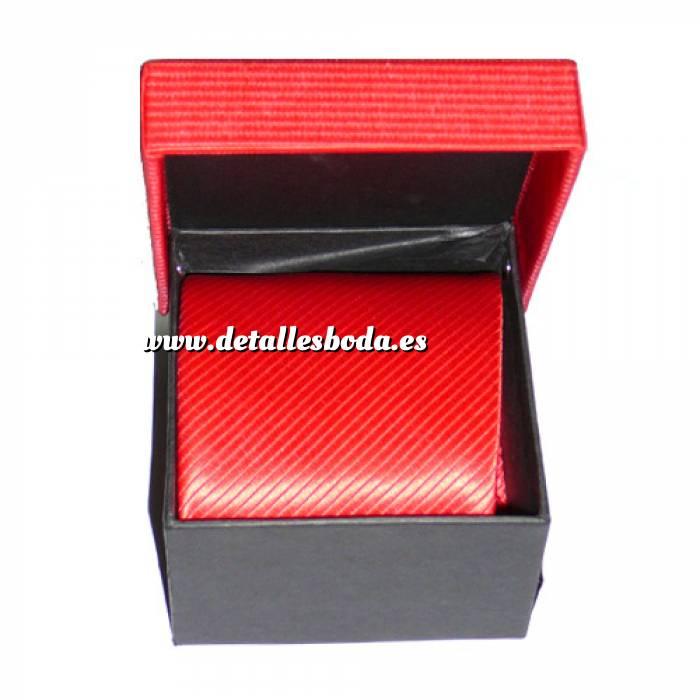 Imagen Para Hombre Corbatas lisas surtidas en cajita (Últimas Unidades)