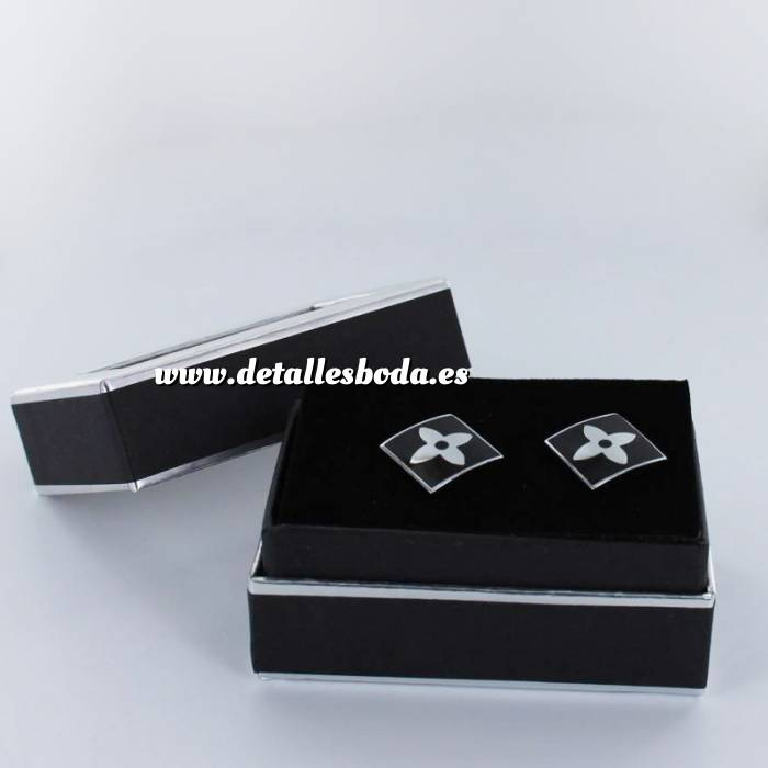 Imagen Para Hombre Gemelos Ref.05 en caja plateada forrada (Últimas Unidades)
