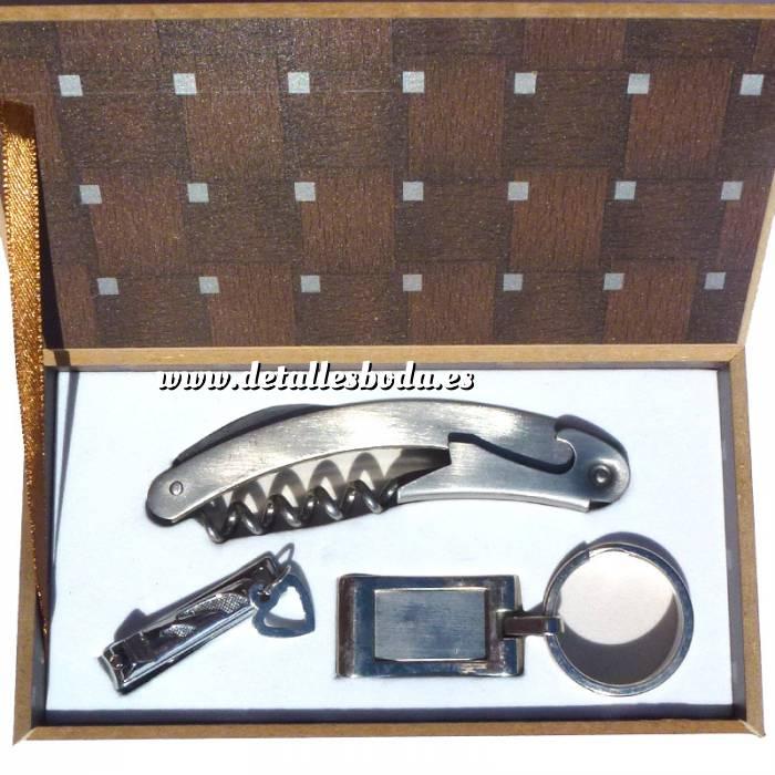 Imagen Set de vino Set de Viaje Navaja + cortuñas + Kit afeitado