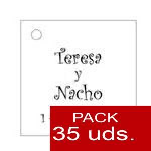 Imagen Etiquetas personalizadas Etiqueta Modelo A02 (Paquete de 35 etiquetas 4x4)