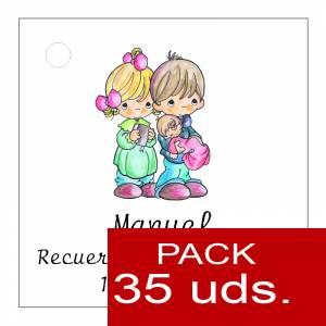 Etiquetas personalizadas - Etiqueta Modelo A27 (Paquete de 35 etiquetas 4x4)