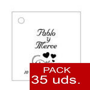 Imagen Etiquetas personalizadas Etiqueta Modelo C01 (Paquete de 35 etiquetas 4x4)