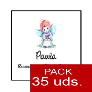 Imagen Etiquetas personalizadas Etiqueta Modelo C06 (Paquete de 35 etiquetas 4x4)