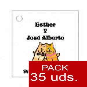 Imagen Etiquetas personalizadas Etiqueta Modelo C13 (Paquete de 35 etiquetas 4x4)