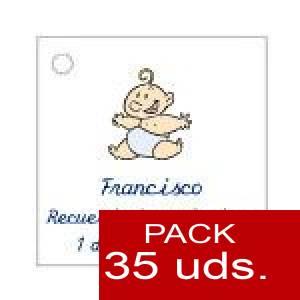 Imagen Etiquetas personalizadas Etiqueta Modelo C21 (Paquete de 35 etiquetas 4x4)