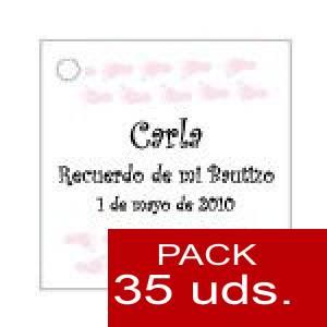 Imagen Etiquetas personalizadas Etiqueta Modelo D22 (Paquete de 35 etiquetas 4x4)