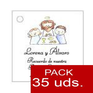 Imagen Etiquetas personalizadas Etiqueta Modelo E20 (Paquete de 35 etiquetas 4x4)