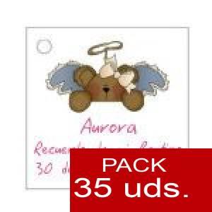 Imagen Etiquetas personalizadas Etiqueta Modelo E24 (Paquete de 35 etiquetas 4x4)