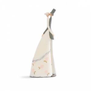 Novios Tarta Modernos - Figura Pastel Novios Abrazo Beso Pequeños