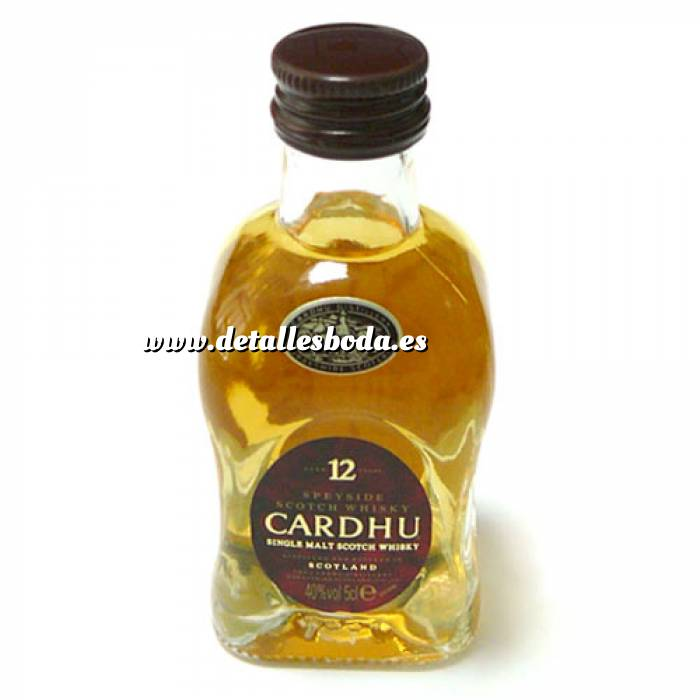 Imagen 7 Whisky Whisky Cardhu 12 años 5cl