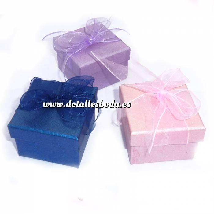 Imagen Cajitas para regalo Cajita para anillos o regalitos - Colores surtidos