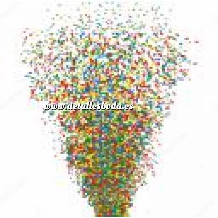 Imagen Detalles para la ceremonia Tubo Cañón CONFETI multicolor brillante 30cm