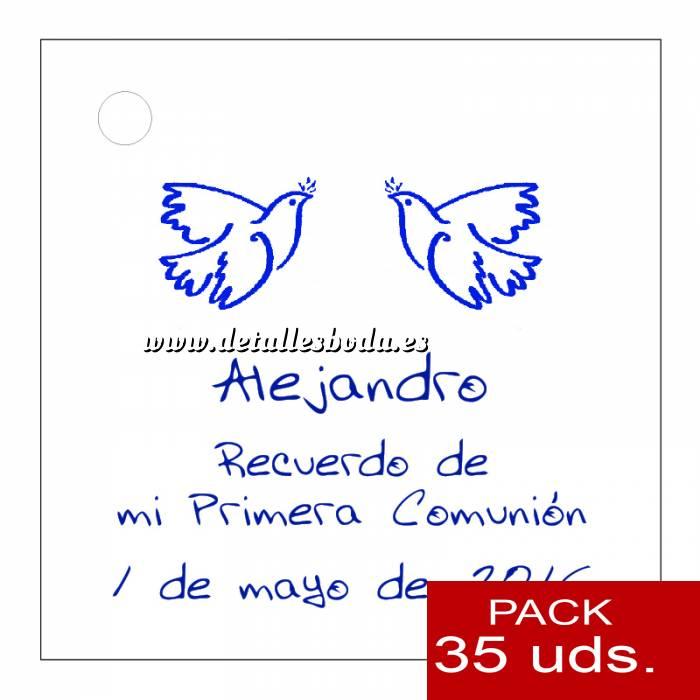 Imagen Etiquetas impresas Etiqueta Modelo A21 (Paquete de 35 etiquetas 4x4)