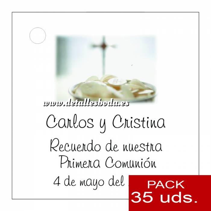 Imagen Etiquetas impresas Etiqueta Modelo C20 (Paquete de 35 etiquetas 4x4)