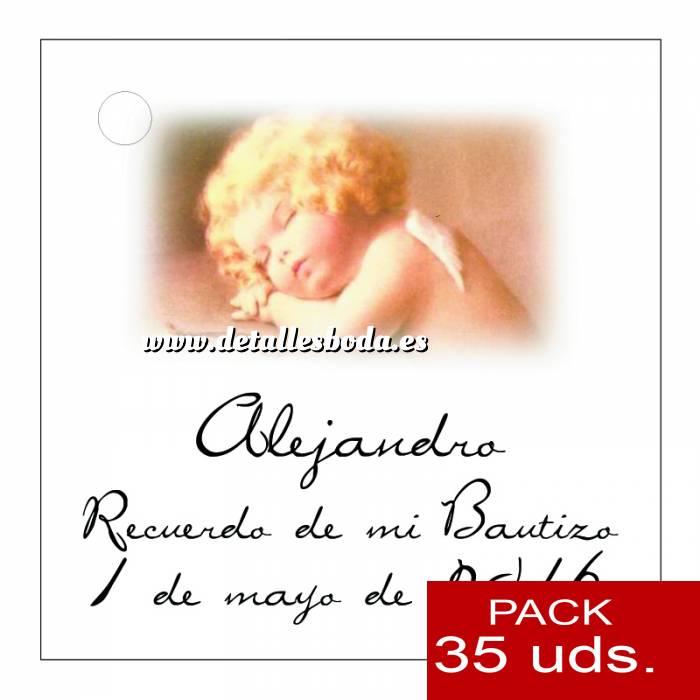Imagen Etiquetas impresas Etiqueta Modelo C28 (Paquete de 35 etiquetas 4x4)