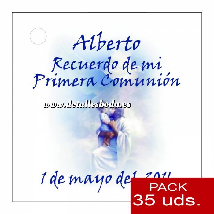 Imagen Etiquetas impresas Etiqueta Modelo D19 (Paquete de 35 etiquetas 4x4)