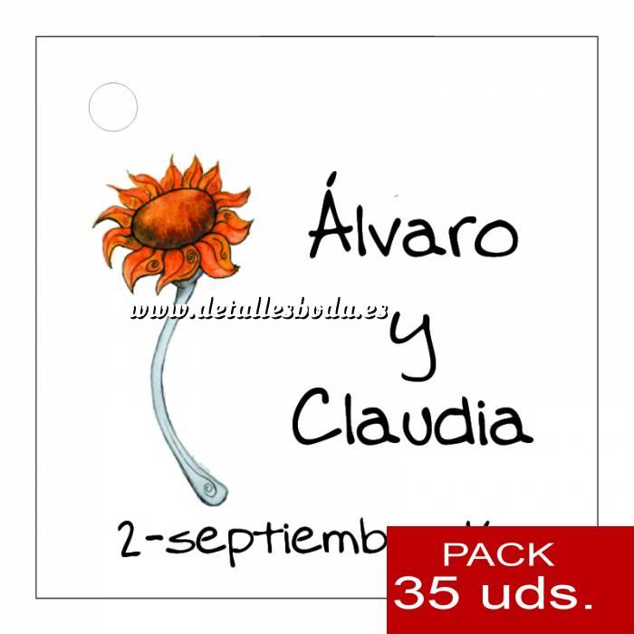 Imagen Etiquetas impresas Etiqueta Modelo F06 (Paquete de 35 etiquetas 4x4)