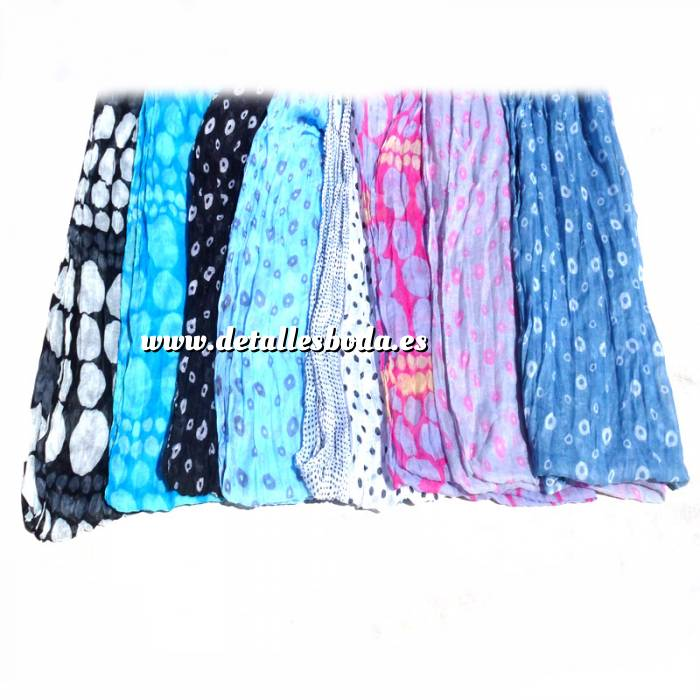 Imagen Pashminas Foular Ligero de Verano con Distintos Estampados (Colores Surtidos) (fular ligero)