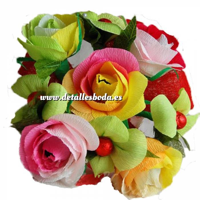 Imagen Prácticos mujer Ramo Grande - Flor Bombón - Color Liso
