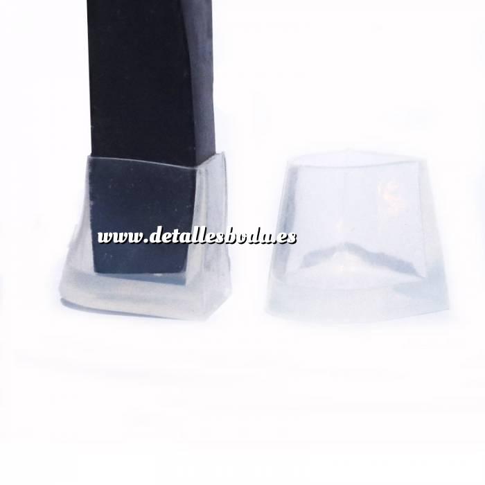 Imagen Protectores de Tacón Protector tacón CUADRADO XL (1.5 cms) - Cubretacon (1 par)