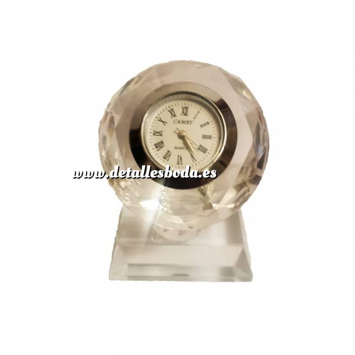 Reloj de cristal círculo