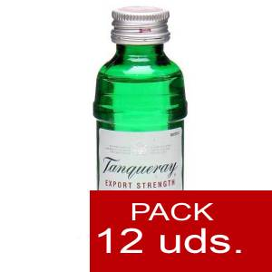 1 Ginebra - Ginebra Tanqueray Export Strength 5cl - PT 1 PACK DE 12 UDS