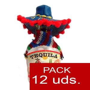 4 Tequila - Tequila Panchitos 5cl PACK DE 12 UDS