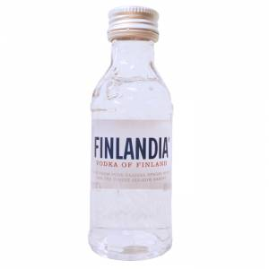 6 Vodka - Vodka FINLANDIA 5cl.