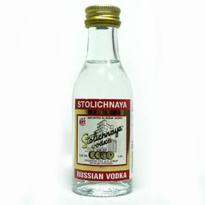 6 Vodka - Vodka Stolichnaya 5cl
