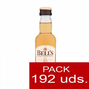 6 Whisky - Whisky Bells (Blended Scotch Whisky) 5cl. CAJA DE 192 UDS