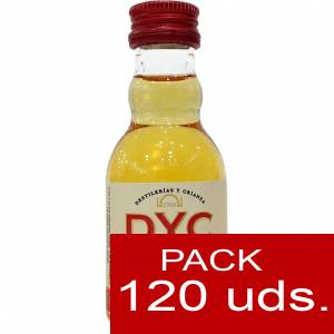 7 Whisky - Whisky DYC Selected Blended Caja de 120 uds.