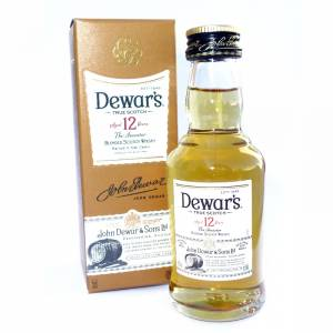 7 Whisky - Whisky Dewar´s White Label 12 años ed. Especial 5cl