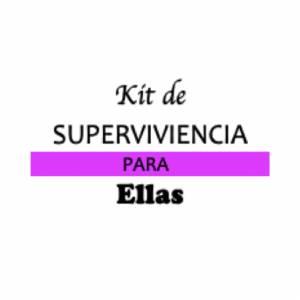 Baño y aromas - KIT individual de Supervivencia para bodas (ELLAS)
