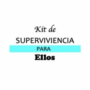 Baño y aromas - KIT individual de Supervivencia para bodas (ELLOS)