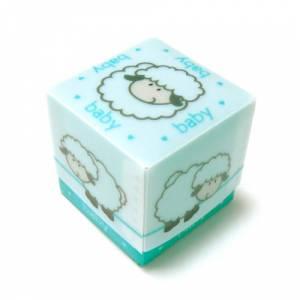 Cajitas para regalo - Cajita Azul Ovejita