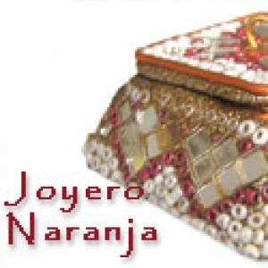 Imagen Espejos, Joyeros y Bisuteria Joyero indio Granate (Últimas Unidades)