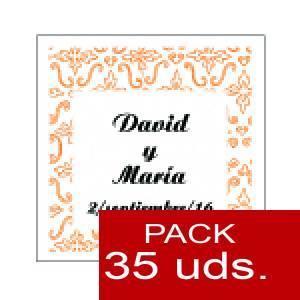 Imagen Etiquetas impresas Etiqueta Modelo A12 (Paquete de 35 etiquetas 4x4)