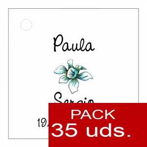 Etiquetas impresas - Etiqueta Modelo A15 (Paquete de 35 etiquetas 4x4)