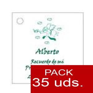 Imagen Etiquetas impresas Etiqueta Modelo A19 (Paquete de 35 etiquetas 4x4)