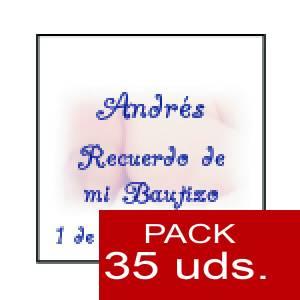 Imagen Etiquetas impresas Etiqueta Modelo A25 (Paquete de 35 etiquetas 4x4)