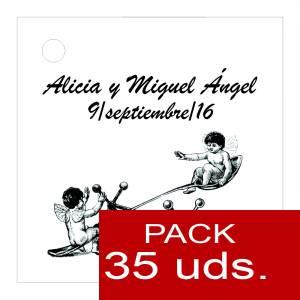 Etiquetas impresas - Etiqueta Modelo B15 (Paquete de 35 etiquetas 4x4)
