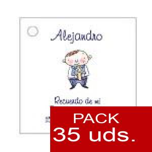 Imagen Etiquetas impresas Etiqueta Modelo E17 (Paquete de 35 etiquetas 4x4)