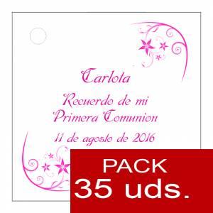 Etiquetas impresas - Etiqueta Modelo F19 (Paquete de 35 etiquetas 4x4)