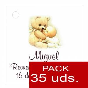 Etiquetas impresas - Etiqueta Modelo F22 (Paquete de 35 etiquetas 4x4)