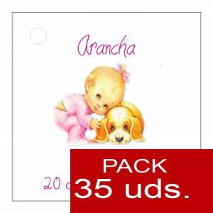 Etiquetas impresas - Etiqueta Modelo F23 (Paquete de 35 etiquetas 4x4)