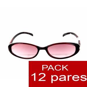 Gafas de sol - Gafas de Sol burdeos para bodas ALTA CALIDAD- Mod. 08. PACK 12 uds