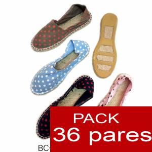 Mujer Estampadas - Alpargata estampada CIRCULOS Caja 36 pares - OFERTA ULTIMAS CAJAS (duplicado) (duplicado)
