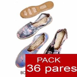 Mujer Estampadas - Alpargata estampada FLAMENCOS Caja 36 pares (Últimas Unidades)